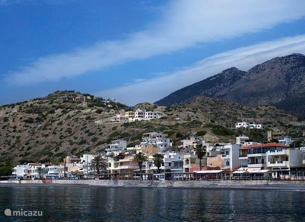 The village Mirtos