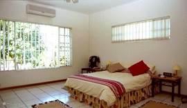 slaapkamer met airco