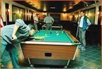 Billiards et al in the middle center
