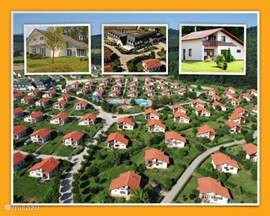 Comfortable two types of villas in VACATION PARADISE Vargesztes Hungary Hungary is a wonderful country to celebrate holidays: fantastic unspoiled nature, the people are very friendly, a rich cultural life, beautiful Baroque cities like Budapest, Pécs and very much more beautiful cities, you genius