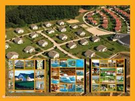 TOP holiday paradise in Hungary with type 2 spacious holiday homes for 8 to 9 people