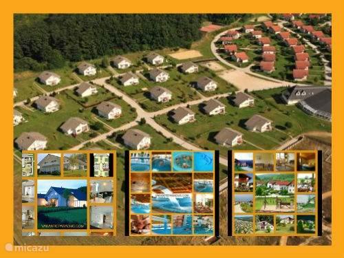 Het Vakantiepark is in 1996 gebouwd op Nederlands initiatief en is eigendom van Nederlandse eigenaren en hiermee uniek in Hongarije. Vakantiepark Villapark Vargesztes ligt in een zeer natuurrijke groene, glooiende omgeving met veel bossen, heuvels, meertjes, middeleeuwse gebouwen en prachtige versti