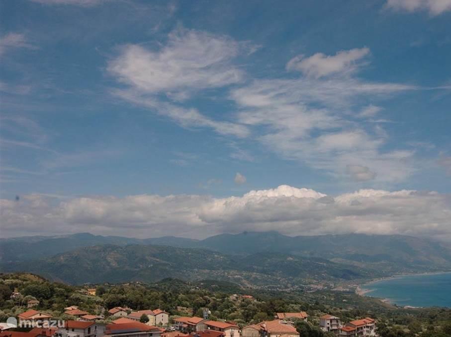 Het adembenemende uitzicht.