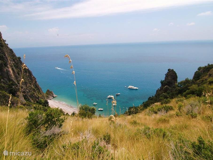The Masseta coast: one of the most beautiful in Italy.