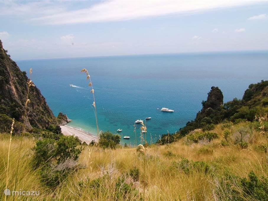 De Masseta kust: een van de mooiste van Italië.