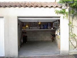 Garage met fietsen