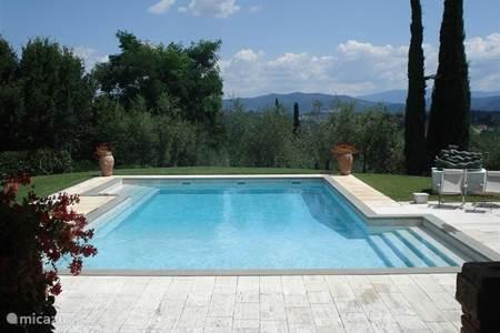 Villa villetta in mercatale in val di pesa toscane itali huren - Zwembad onder het terras ...