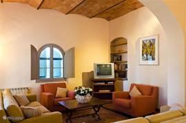 In Toscaanse stijl en kleuren