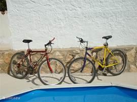 2 mountainbike `s