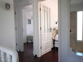 Entree naar de drie slaapkamers op de eerste verdieping