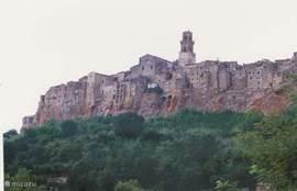 Pitigliano, temidden van het Etruskisch gebied