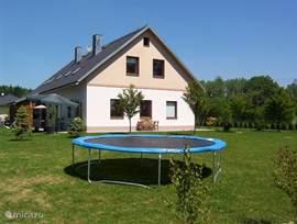 ook een grote trampoline