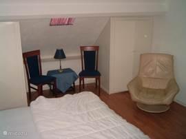 Slaapkamer boven.