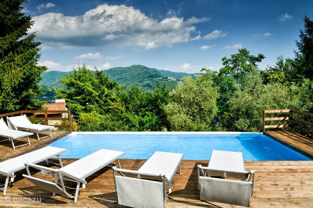 Vakantiehuis Italië, Toscane, Pescia  San Quirico – vakantiehuis Villa Ricci