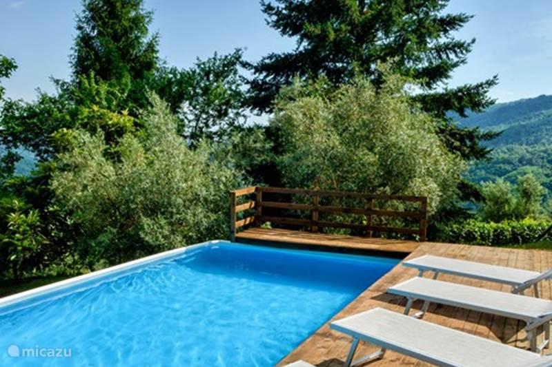 Vakantiehuis Italië, Toscane, Pescia  San Quirico Vakantiehuis Villa Ricci