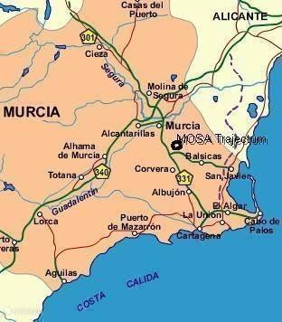 provincie Murcia