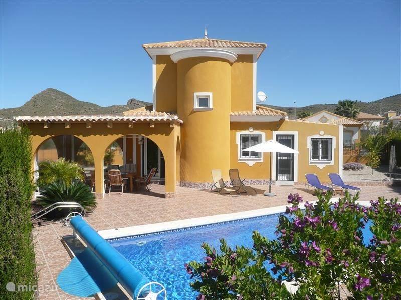 Vakantiehuis Spanje, Costa Cálida, Mazarrón - villa Casa Oleander zeer compleet!