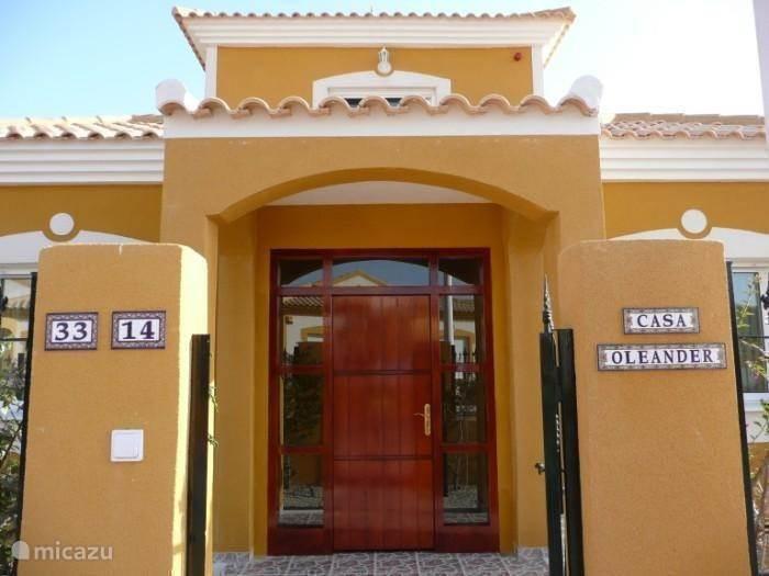 Vakantiehuis Spanje, Costa Cálida, Mazarrón Villa Casa Oleander zeer compleet!
