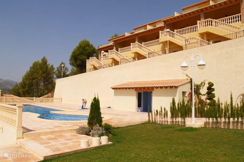 Vakantiehuis Spanje, Costa Blanca, Jalón Geschakelde woning Bon Sol