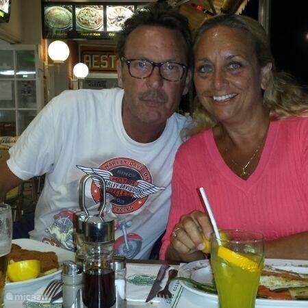 Paul en Sylvia  Van der Tol
