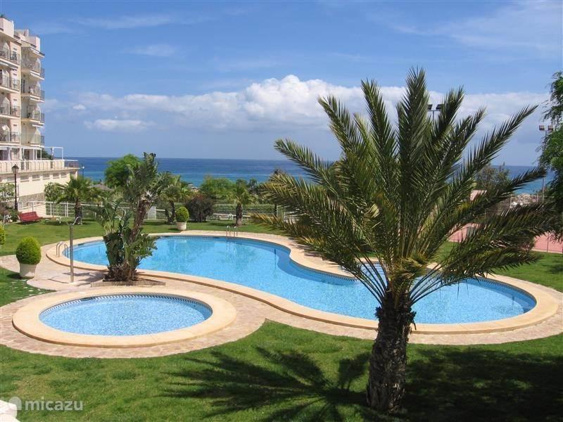 Vakantiehuis Spanje, Costa Blanca, El Campello appartement Cala Merced + Dakterras en  Wifi