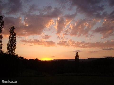 Zonsondergangen, sterrenhemel