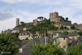 Turenne, fraai stadje voor rondwandelingen en bezoek aan kasteel;  prima restaurant Le Vicomté