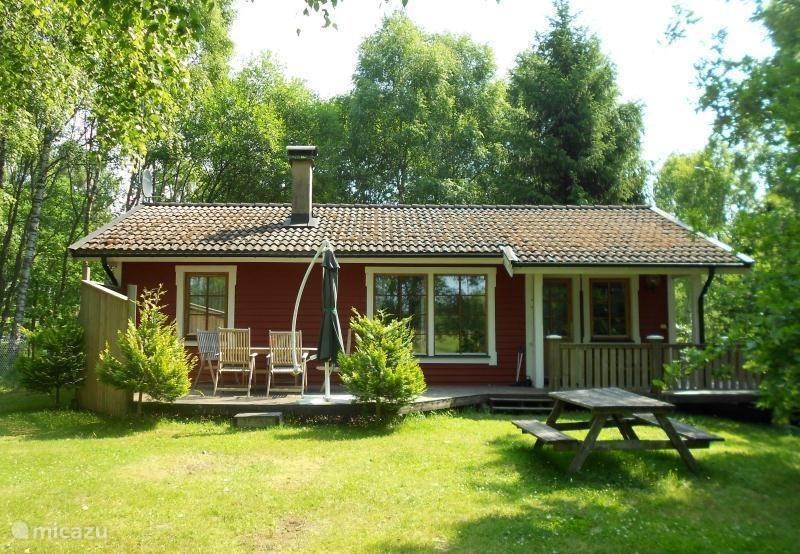 Vakantiehuis Zweden – vakantiehuis Minnebo met grote tuin