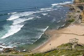 Praia de Sao Sebastiao in de winter