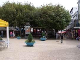 Het centrum met z'n winkeltjes