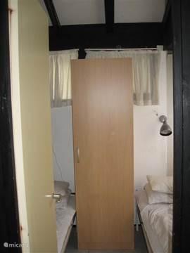 slaapkamer 3 met 2 eenpersoonsbedden