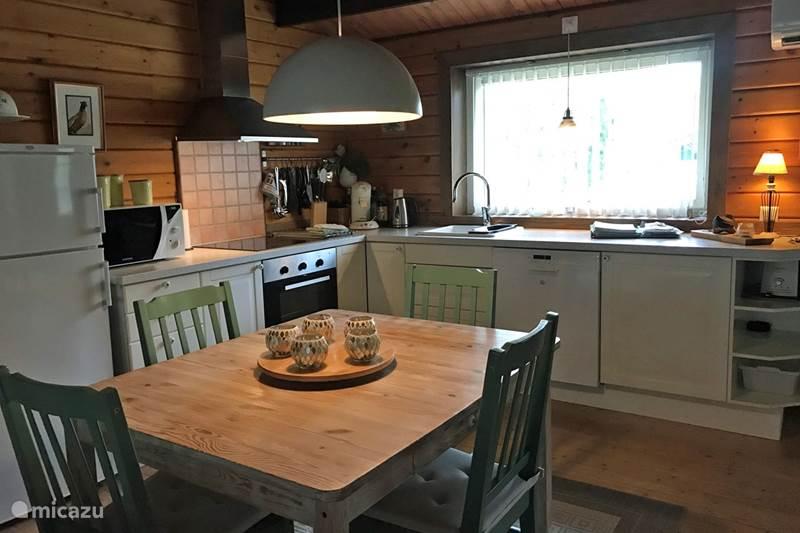 Vakantiehuis Zweden, Skåne, Västra Torup - Svenstorp Vakantiehuis Sv. Stjärnan met sauna.