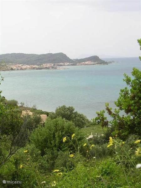 De nabije omgeving van de villa