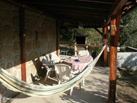 veranda en barbecue