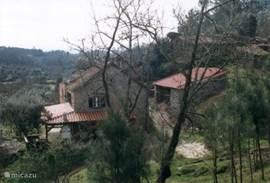 huis en schuur voorzijde