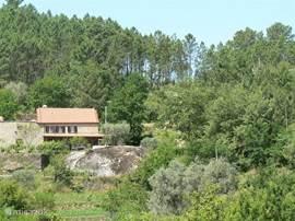 woonhuis vanaf overzijde dal