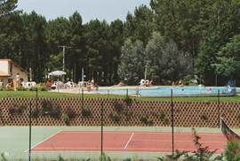 pool + tennis