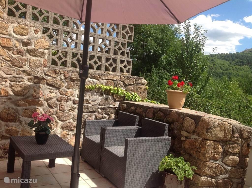 Vakantiehuis Frankrijk, Ardèche, Gluiras vakantiehuis La basse Maza - La Glycine