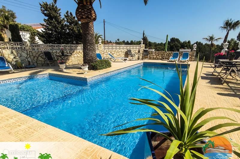 Vakantiehuis Spanje, Costa Blanca, Alfáz del Pi Appartement Villa Delfin 6 Pers Appart (beneden)