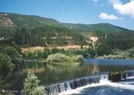 rivier Zezere(uitzicht van het huis)