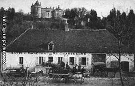 The hotel du Marchal in Chastellux in 1900