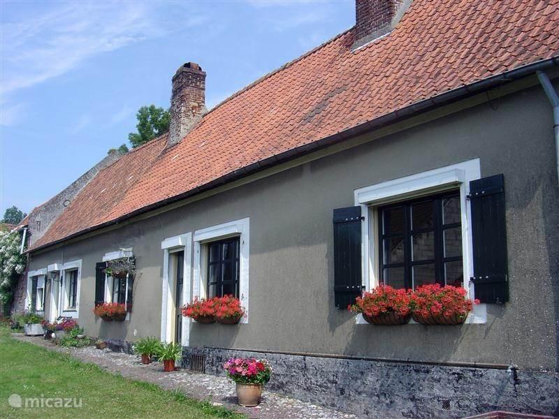 Vakantiehuis Frankrijk, Pas-de-Calais, Mouriez Boerderij La vieille ferme