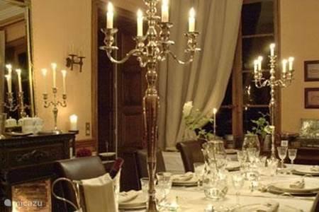The royal dinner table