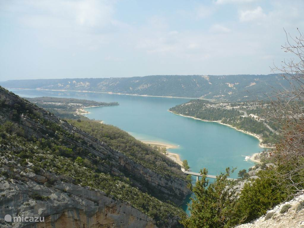 Lake Sainte Croix in the Verdon is not far away for a getaway.