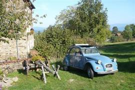 Take a tour trip in a typical 2CV on the country roads through beautiful green hilly landscape of the Auvergne. If required, we provide a well-stocked picnic basket and directions