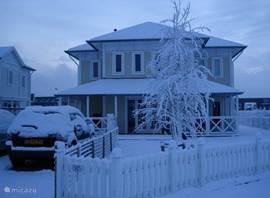 Ook wintersfeer foto, het is ook prachtig onder een witte deken van verse sneeuw (foto van huurder)