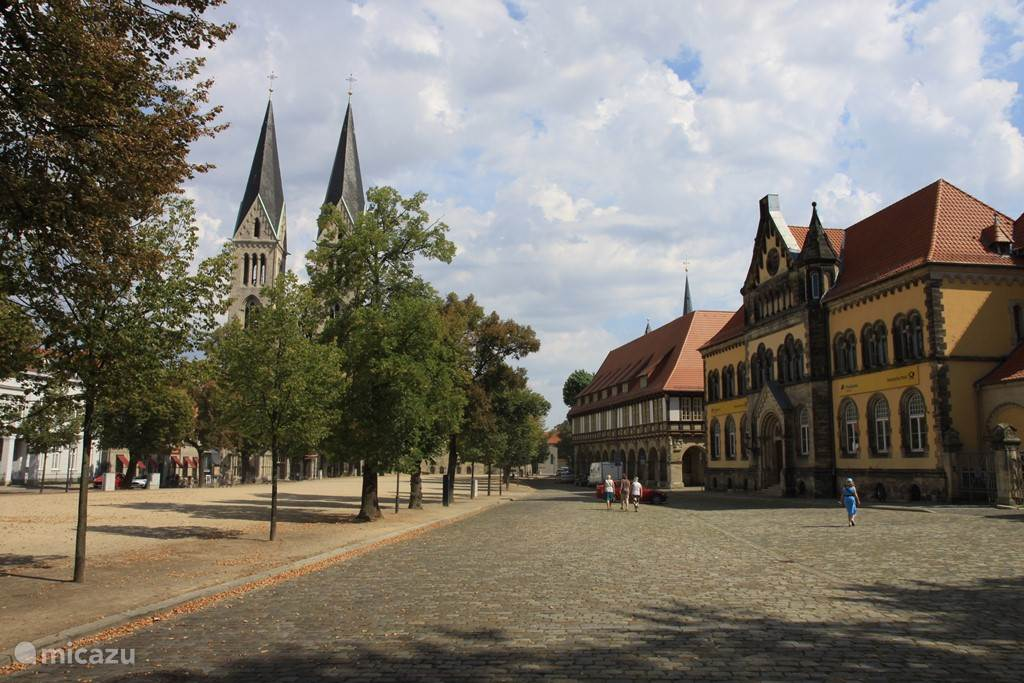 Vacation rental Germany, Harz, Huy-Neinstedt Manor / Castle City Hall Huy-Neinstedt