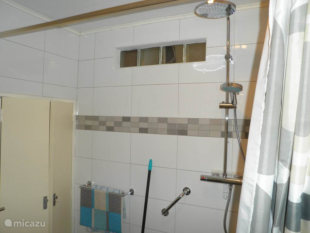 badkamerkast en douche