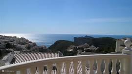 Bij helder weer is zelfs Ibiza zichtbaar.