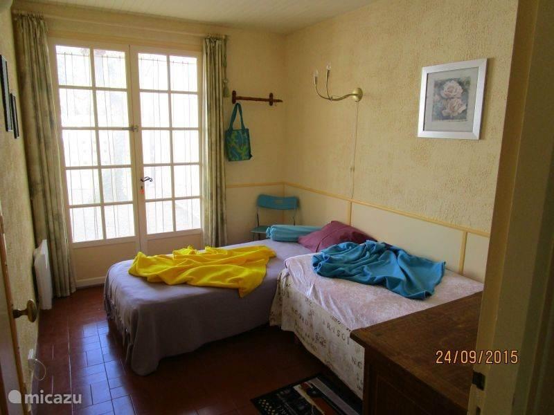 slaapkamer 2 in de villa